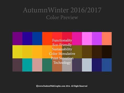 pantone color forecast 2017 aw2016 2017 trend forecasting winter 2016 fashion