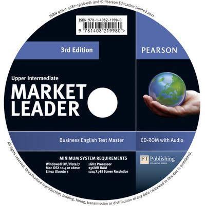 1408268035 market leader rd edition upper market leader 3rd edition upper intermediate test master