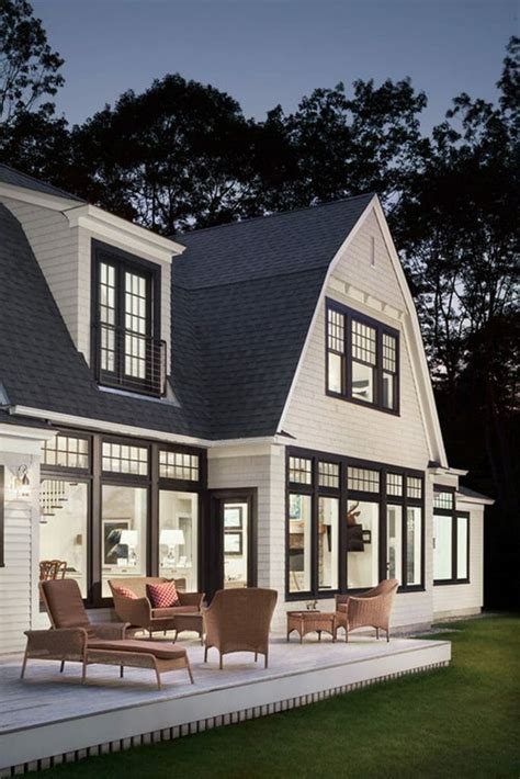 black framed windows house black window trim modernize