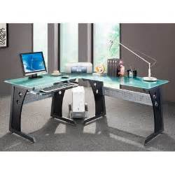 L Shaped Computer Desk Cheap Cheap Techni Mobili Rta 3803 Graphite Frosted Glass L Shaped Computer Desk With Cpu Caddy