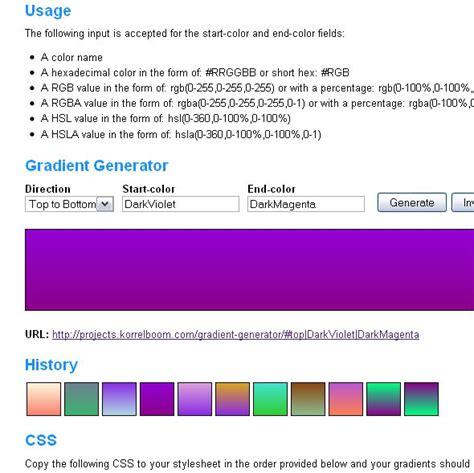 css3 pattern background generator 18 useful css3 gradient generator tools