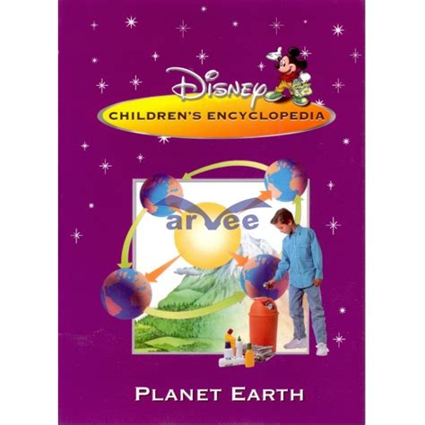 Disney Childrens Encyclopedia Great Lives Planet Earth Arvee Books