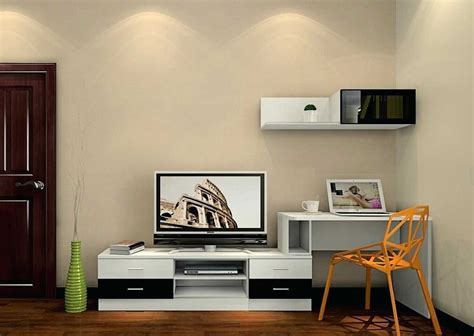 awesome desk tv stand combo collection with desktop stands