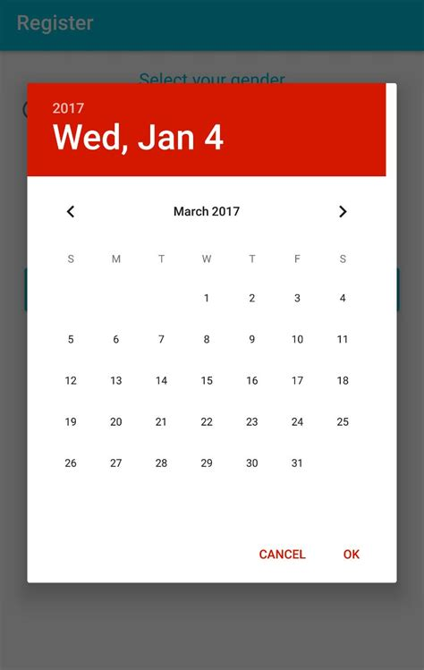 layoutinflater margin extra padding margin added to datepicker on android 7 1 1