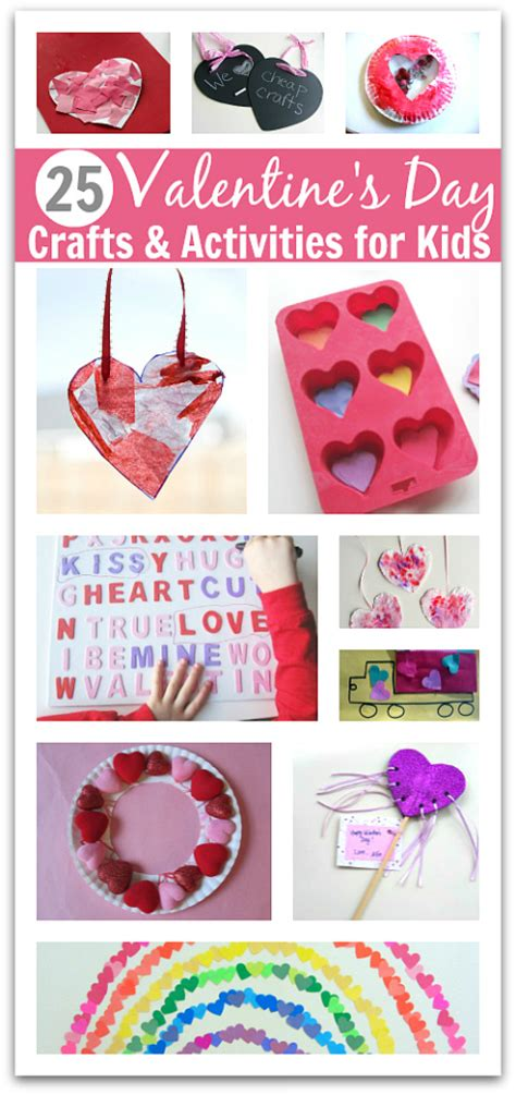 valentines day for toddlers 25 easy s day crafts and activities for
