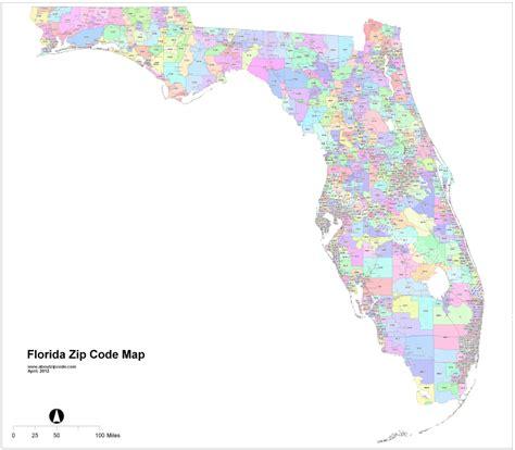 zip code map florida zip code directory florida 2016