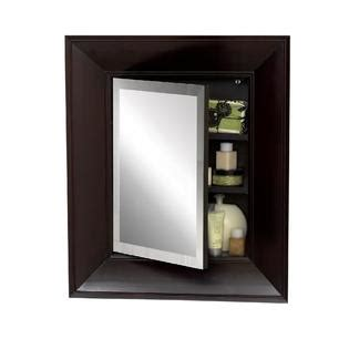 kmart bathroom cabinets zenith products concave frame bevel mirrored 21 quot x 25 quot medicine cabinet espresso home