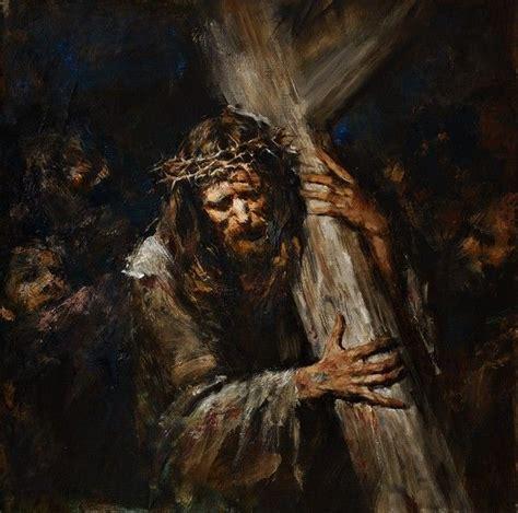 Bearing The Cross anatoly shumkin bearing the cross 606 215 600 jesus