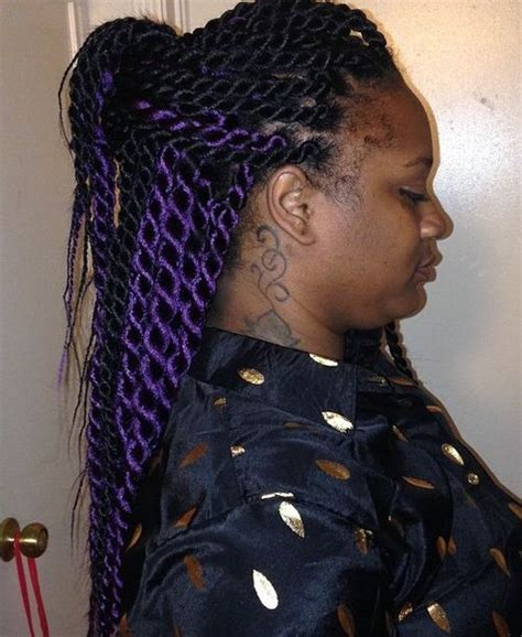a large twist in straight hair senegalese twists 40 ways to turn heads quickly