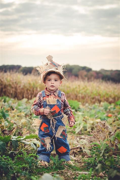 toddler boy diy scarecrow costume halloween costumes