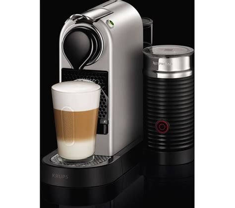 Krups Coffee Machine buy nespresso by krups citiz milk xn760b40 coffee