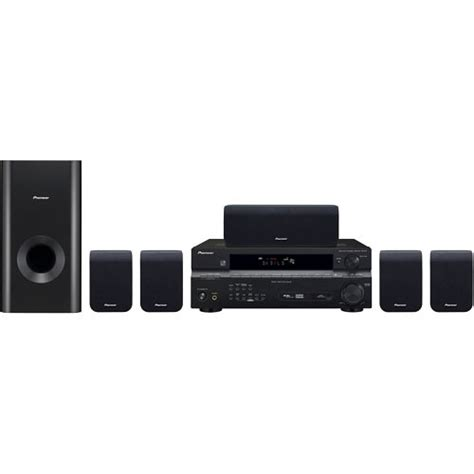 pioneer htp 2900 5 1 channel home theater system htp 2900 b h
