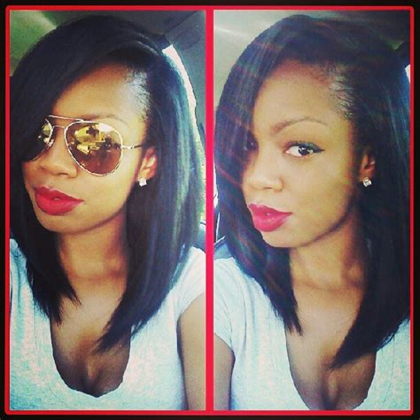 pic of hair style full sew in with closure full sew in black asian hispanic indian hair pinterest