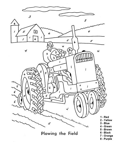 printable paint by number az coloring pages