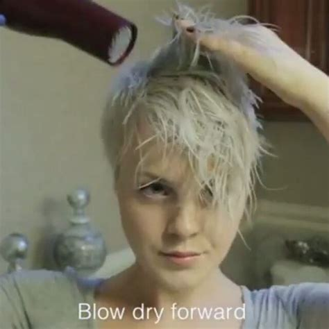 disheveled pixie hair style tutorial 1946 best images about short cuts on pinterest short