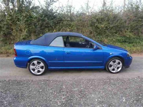 Vauxhall Astra Coupe Convertible Vauxhall 2004 Astra 1 8 16v 2dr Cabriolet 2 Door