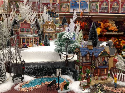 lemax christmas village display ideas images