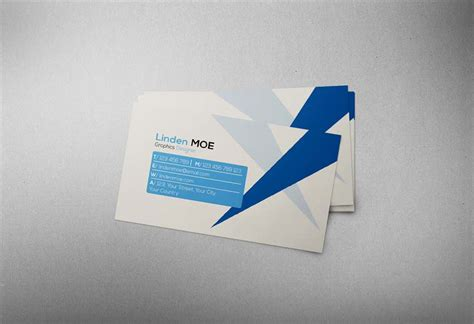 20 Free Printable Templates For Business Cards Photoshop Card Template