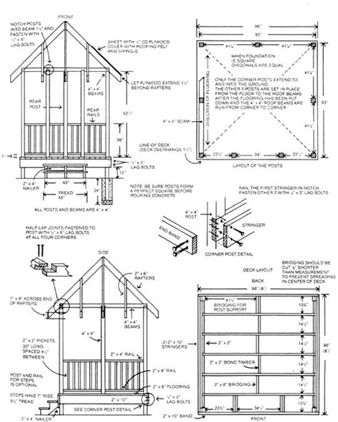 Gazebo Building Plans Plans Building Outdoor Gazebo Furnitureplans