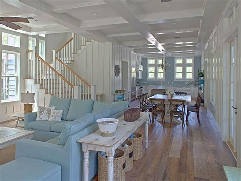 Coastal Home Interiors | new home interior design coastal home with turquoise