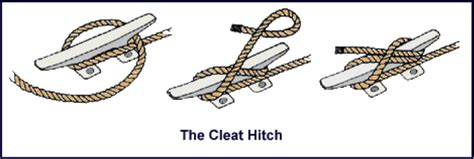 boat dock cleat knot 5 knots all sailors should know blindfolded