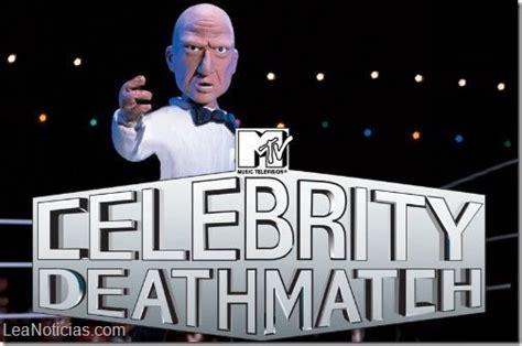 celebrity deathmatch let s get it on mtv confirma el regreso de celebrity deathmatch