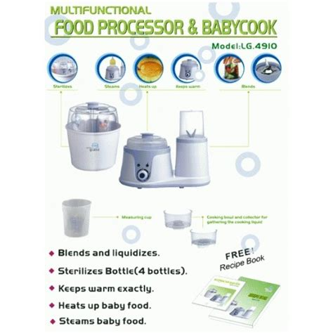 Lg 4910 Food Processor And Baby Cook 1 lg 4910 food processor and baby cook