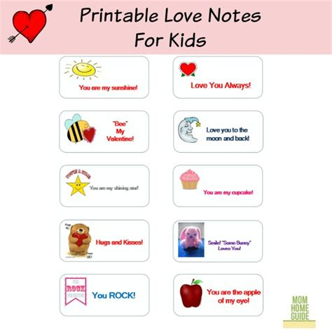 valentines day notes for valentines day ideas