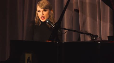 best taylor swift songs on piano taylor swift shares solo piano out of the woods for 1989