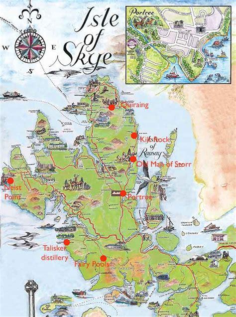 printable map skye ultimate guide to isle of skye