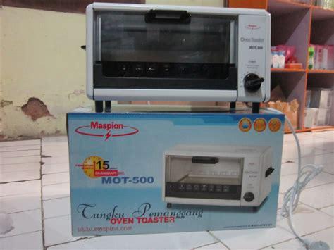 Oven Maspion Mot 500 jual alat pemanggang maspion oven toaster mot 500 alat