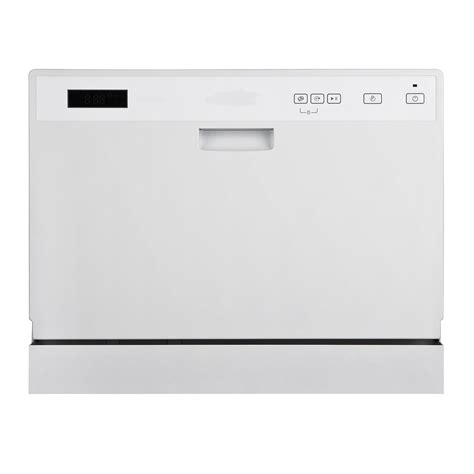 equator midea cd 400 3203 w countertop dishwasher with 6