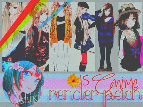 anime pack 15 anime renders pack by sakuraaoshiki on deviantart