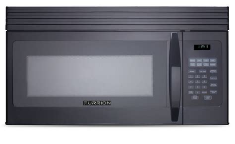 microwave store 1 5 cu ft over the range convection microwave black