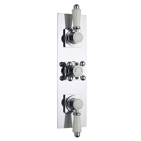 Shower Faucet Trim Plate by Traditional Concealed Shower Faucet Valve With Slim Trim Plate In Chrome Ebay