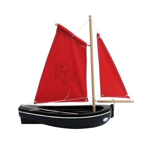 Handmade Sailboat - handmade toys childrens wooden boat tirot
