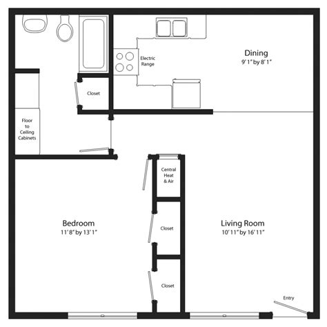 one bedroom floor plans floor plan for one bedroom house 28 images apartments