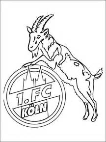 logo of 1 fc k 246 ln football team coloring pages