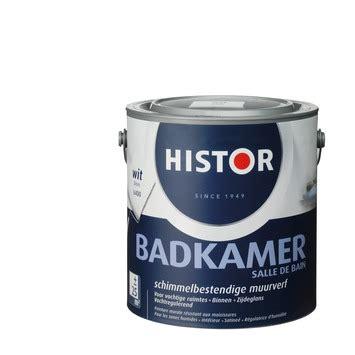 muurverf badkamer gamma histor muurverf badkamer wit 2 5 liter kopen
