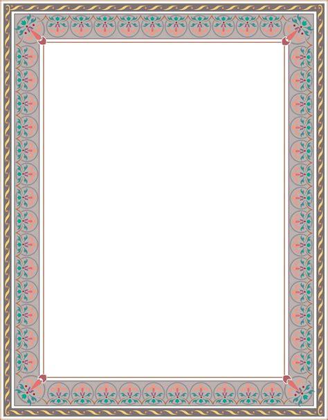 Yasin Modern Biru 1 situs free bingkai border piagam vector 1