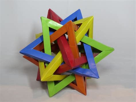 Tetrahedra Origami - learn the of origami everywhere