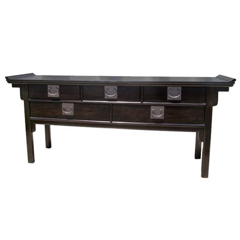 Asian Sofa Table Michael Thomas Henredon Asian Modern Asian Sofa Table