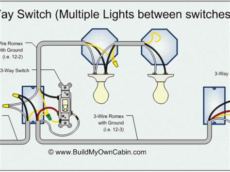 3 way switch lights wiring diagram wiring