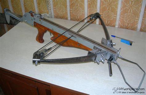 Handmade Crossbow - diy foldable crossbow
