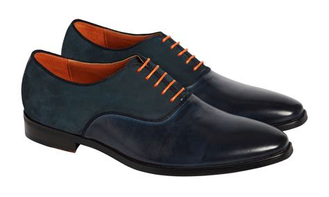 navy oxford shoes suede and leather oxford navy shoes simon