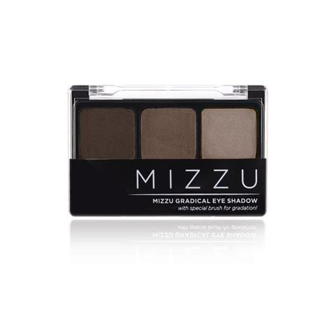Eyeshadow Mizzu mizzu gradical eye shadow choco berry eyeshadow aneka