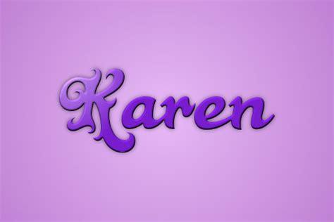 imagenes de letras goticas que digan karen que significa el nombre karen imagui