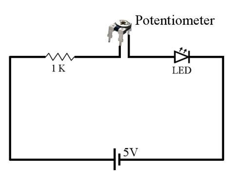 wiring a potentiometer diagram potentiometer circuit