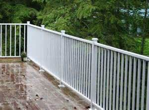 Handrail Systems For Decks Deck Railing Systems Easyrailings Aluminum Railings