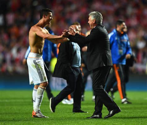 Waterproof Carlo Ancelotti Real Madrid Uefa carlo ancelotti and cristiano ronaldo photos zimbio